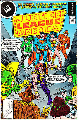 Whitman Comics JUSTICE LEAGUE of AMERICA 1978 #158 VG-/VG