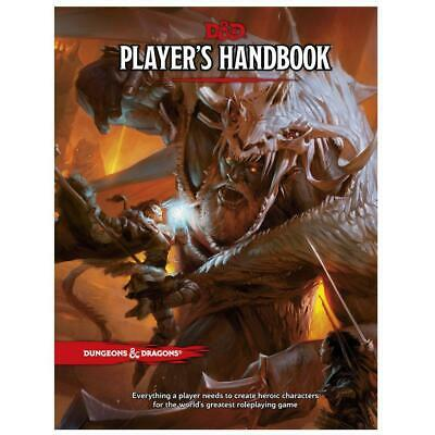 D&D Dungeons & Dragons Player's Handbook 5th Edition By Wizard RPG Team