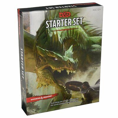 D&D Dungeons & Dragons Starter Set 5th Edition By Wizard RPG Team