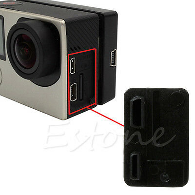 1Pcs USB Side Door Protective Cover Replacement for GoPro Hero 3 3+ 4 Camera