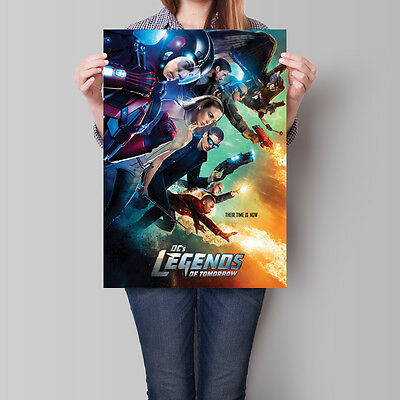 Legends of Tomorrow Poster TV Show DC Arrow Flash Spin-off A2 A3 A4