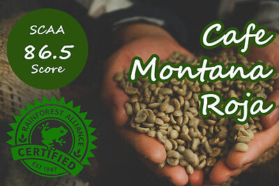3kg Raw Colombia Montanita Microlots -  Arabica Green Coffee Beans home roaster
