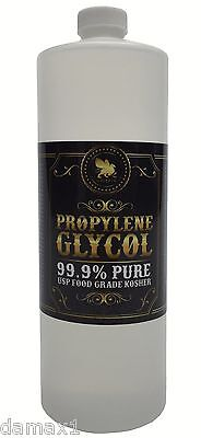 Propylene Glycol - 99.9% Pure Food Grade USP Kosher - 1 Quart