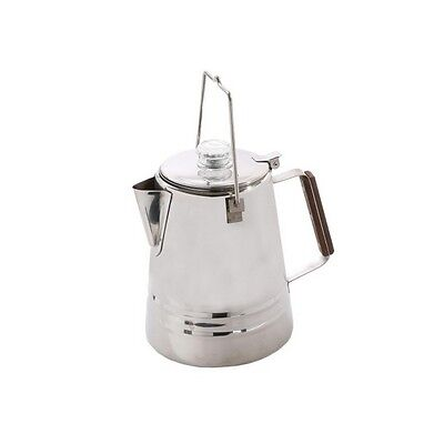 Stainless Steel Percolator Coffee Pot - 28 Cup-276-28