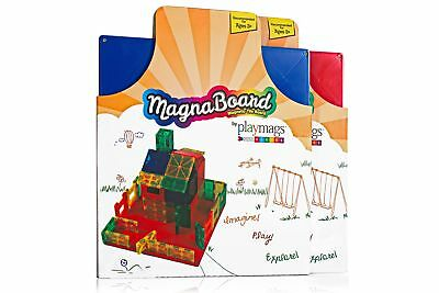 Playmags Building Board - Magnetic Starting Building Plate for Playmags Tiles
