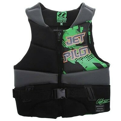 JetPilot DILLON GUN Wakeboard Waterski Competition Buoyancy Vest, S or M. 51409