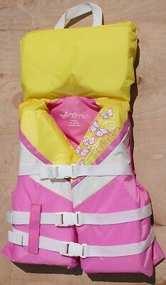 O'Brien GIRLS Approved Life Jacket, Youth 30-40Kg. 45483 End of Season Sale!