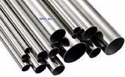 """Tubing 1/2"""" Od X .065"""" Wall 316 Stainless Steel (Seamless) Cut To Length, Feet"""