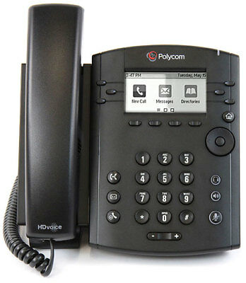 Polycom VVX 300 Business Desktop PHONE sip VoIP 2201-46135-001
