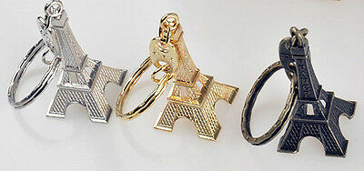 Lot Of 3 Paris France Eiffel Tower  Key Chains. Good Stuff From Junkmanralf  Kc6