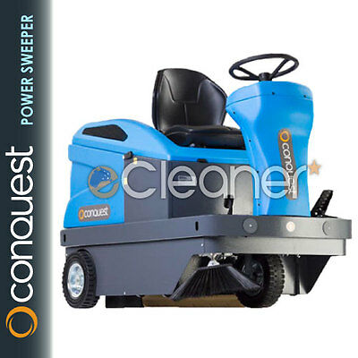 CONQUEST PB111E-C COMPACT INDUSTRIAL RIDE ON SWEEPER (Inc Batteries & Charger)