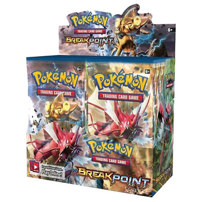 Pokemon TCG XY9 BREAKpoint Booster box Trading Cards