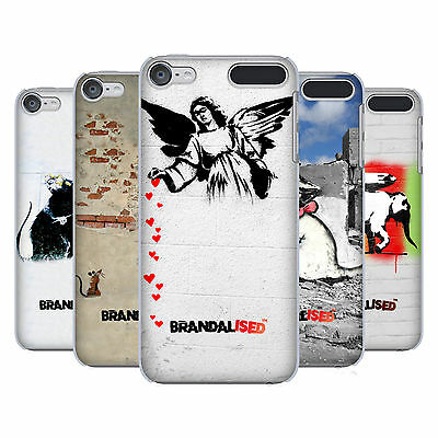 OFFICIAL BRANDALISED TEXTURED ART HARD BACK CASE FOR APPLE iPOD TOUCH MP3
