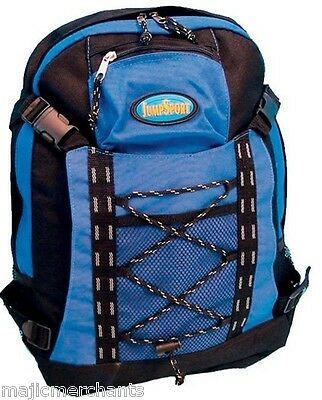 12 Litre Blue Black Sport Hiking Backpack Rucksack Walking Outdoor Cycling Bag