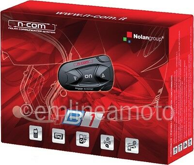 Intercom Single Nolan N-Com B1 Bluetooth For Nolan Helmets