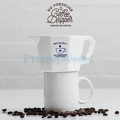 No Pressure COFFEE DRIPPER Drip Coffee Without Pressure Better Coffee By SUCK UK