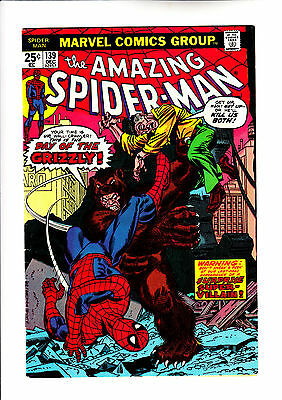 Amazing Spider-Man 139 1st app of Grizzly
