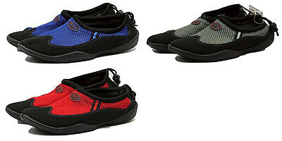 TruFit Men's Swimshoes Paneled Mesh Uppers & Rubber Soles