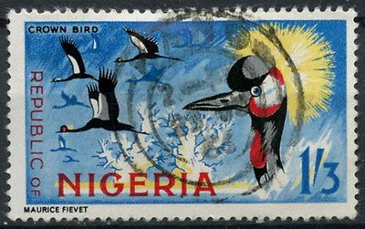 Nigeria 1965-6 SG#181, 1s3d Birds Definitive Used #D19237