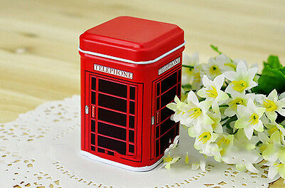 New Metal Square Candy Tin Trinket Jewelry Iron Pill Tea Coin Storage Box Case