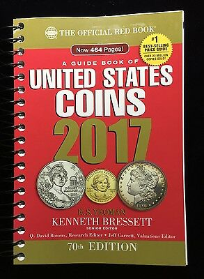 2017 Red Book Price Guide to U.S. Coins Spiral Bound, 70th edition, Yeoman