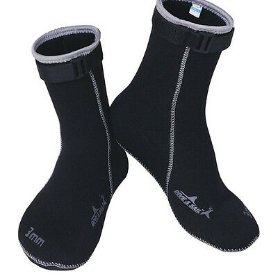 3mm Diving Scuba Surf Swim Watersport Kayak Socks Snorkeling Wetsuit Boots Shoes