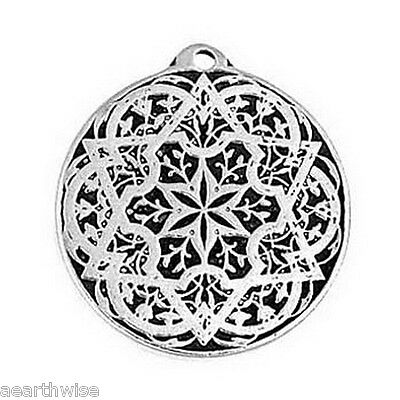 SEAL OF SOLOMON AMULET - PROTECTION - WEALTH - HEALTH Wicca Pagan Witch Goth