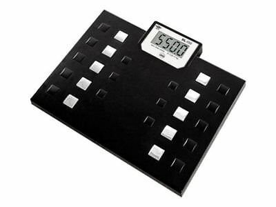 My Weigh 550-lb Capacity Talking Bathroom Body Weight Scale, XL-550 Black New