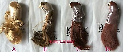"""KUMIK 1/6 Female Hair Wig 2.5 Multi Colors For 12"""" Head Sculpt SHIP FROM USA"""