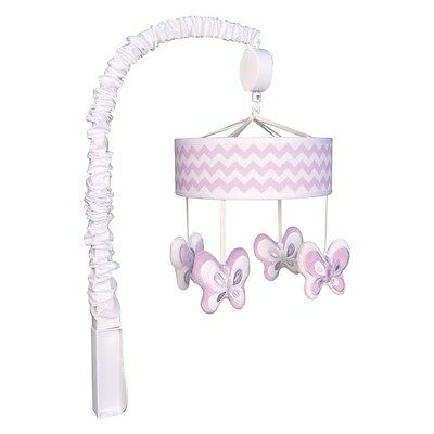 Trend Lab 101754 Orchid Bloom Musical Mobile NEW