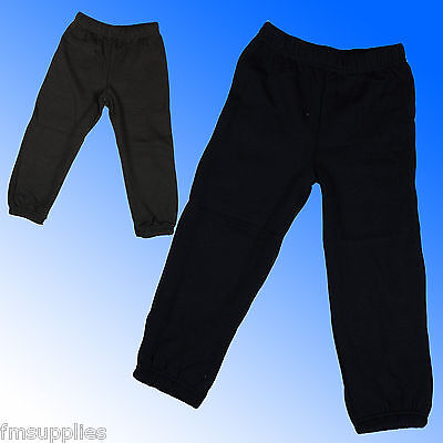 NEW Kids Boys Girls Joggers Jogging Bottoms Sweat Pants Size Age 1-2 Years