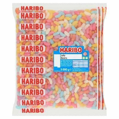 Haribo Jelly Beans Kids Party Candy Retro Chewy Fruit Sweets Weight 100g - 3kg
