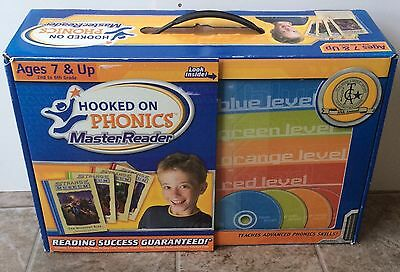 Hooked On Phonics Master Reader Ages 7 & Up 2nd - 6th Grade All Cds And HC Books