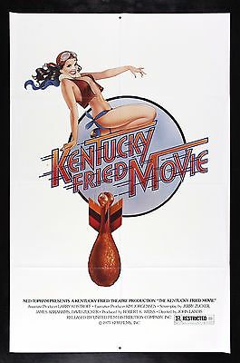 KENTUCKY FRIED MOVIE * CineMasterpieces ORIGINAL MOVIE POSTER CHICKEN LEG 1977
