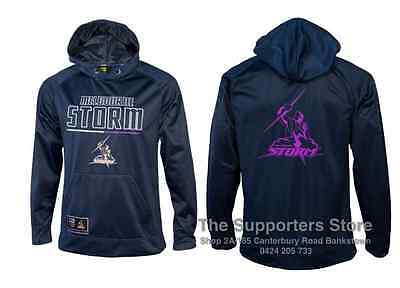 Melbourne Storm 2016 NRL Mens Polyester Hoody/Hoodie Size S-5XL! BNWT's!