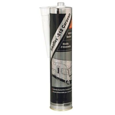 4 x Sika Sikaflex 512 White Caravan & Motor Home Sealant 300ml