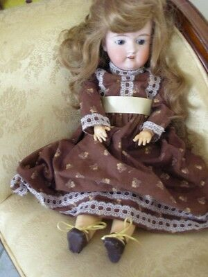 Armand Marseille 390 Bisque Headed Doll