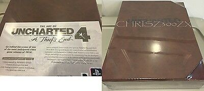 The Art of Uncharted 4: A Thief's End LIMITED EDITION #/1500 Made + Lithograph