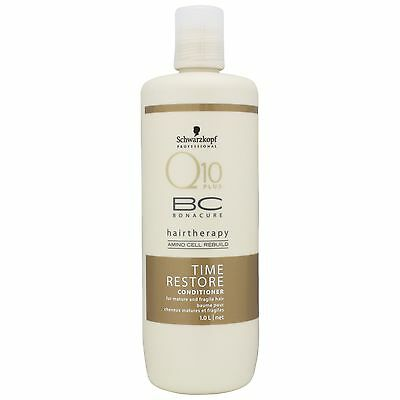 Schwarzkopf BC Bonacure Q10 Time Restore Conditioner 1000ml for her BRAND NEW