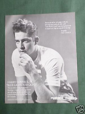 Harry Connick Jr - Magazine Clipping / Cutting- 1 Page Advert