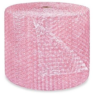 "1/2"" Large Bubble Cushioning Wrap Anti-Static Roll Padding 500' x 24"" Wide 500FT"