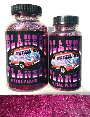 Blakes Metal Flake .015 Bordeaux red Hot Rod Red Pink Custom Paint job