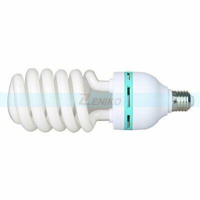 Video Studio Continuous E27 Fluorescent Tricolor Light Bulb 5500K 115W 220V