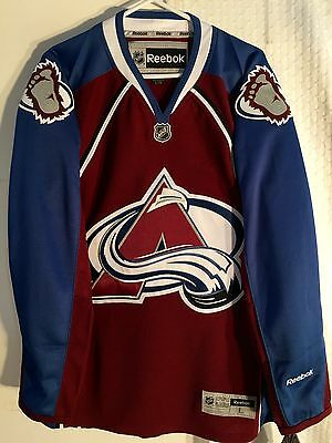 NHL Colorado Avalanche Premier Ice Hockey Shirt Jersey