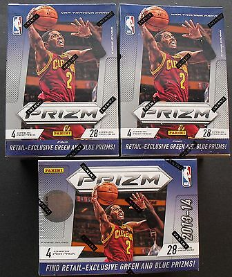 3x NBA Panini Prizm Basketball Box 2013/14 Trading Card  OVP/Sealed