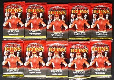 2010 Tristar TNA Icons Wrestling 10x pack a 5 cards