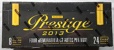 NFL 2013 Panini Prestige Football Retail 36-Pack Box 180Cards OVP / Sealed