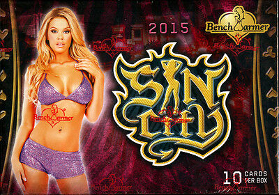 Benchwarmer Sin City Trading Card Box 2015