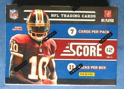 NFL Football Panini Score 2012 Box OVP Sealed NFL