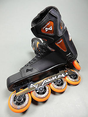 NEW Alkali Men's Lithium CA3 Inline Roller Hockey Skate (Retail $149.99)